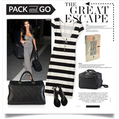 Pack and Go: Spring Getaway by cruzeirodotejo on Polyvore featuring Giuseppe Zanotti, Artessorio, Samsonite, springgetaway and FashionMYWay