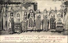 Delcampe - The greatest marketplace for collectors Folklore, Folk Costume, Costumes, Dalmatia Croatia, Belgrade Serbia, Bosnia, Vintage Children, Old Photos, Embroidery Patterns