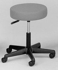 Dynatronics - 19017D - Pneumatic Doctors Stool W/O Back W/O Foot Ring  Black