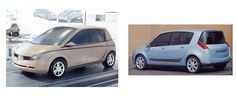 OG | 2003 Renault Scenic Mk2 | Clay models