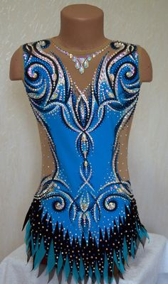 Rhythmic Gymnastics Costumes, Acrobatic Gymnastics, Rhythmic Gymnastics Leotards, Gymnastics Girls, Figure Skating Dresses, Ballroom Dress, Dance Outfits, Work Fashion, Dance Costumes