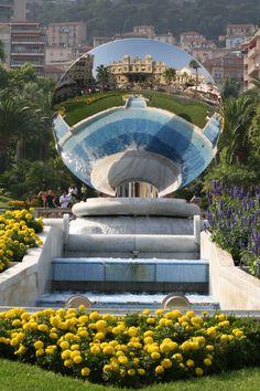 Anish Kapoor, Sky Mirror, Monaco