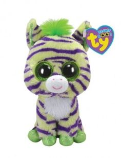 Amazon.com: Ty Beanie Boos Wild - Zebra (Justice Exclusive): Toys & Games