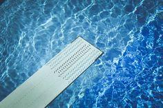 #blue #diving board #pool #recreation #springboard #summer #swimming pool #water