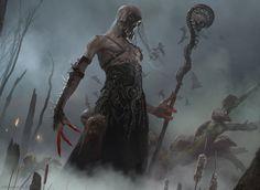 Magic The Gathering: Fell Shepherd by Cryptcrawler