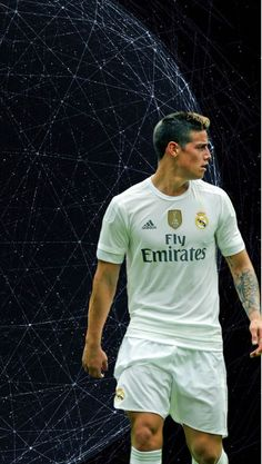 """futbol-wallpapers: """"For @acousticcitydreams and @princesacolombiana great minds think alike James Rodríguez wallpapers """""""
