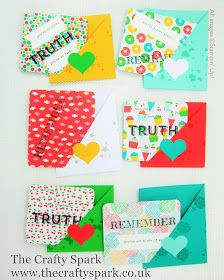 The Crafty Spark: Pootles Blog Hop - Lunch Box Love Notes Stampin Up Schoolhouse and Words of Truth stamp set