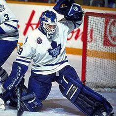 Hungry Leafs Fan: The Day I Met My Hero Felix Potvin Hockey Goalie, Hockey Teams, Maple Leafs Hockey, Goalie Mask, Sports Fanatics, Felix The Cats, Nfl Fans, National Hockey League, Toronto Maple Leafs