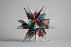 origami...Moravian Star ?