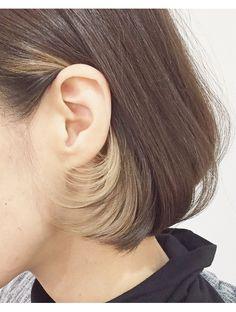 Ideas For Hair Goals Ideas Highlights Boys Dyed Hair, Dyed Hair Purple, Medium Straight Haircut, Hidden Hair Color, Hair Color Underneath, Mens Hair Colour, Hair Color Streaks, Underlights Hair, Dip Dye Hair