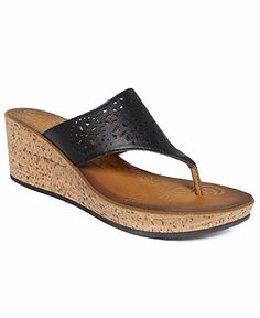 Clarks Women's Mimmey Charm Thong Wedge Sandals - Espadrilles & Wedges - Shoes - Macy's