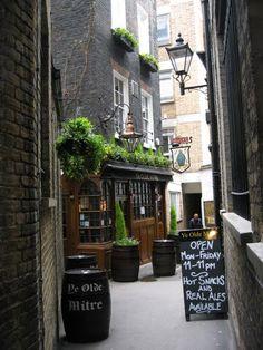 ye olde mitre, london