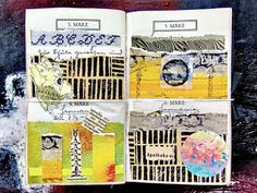 mano kellner, daily project a collage a day, gustavs agenda,