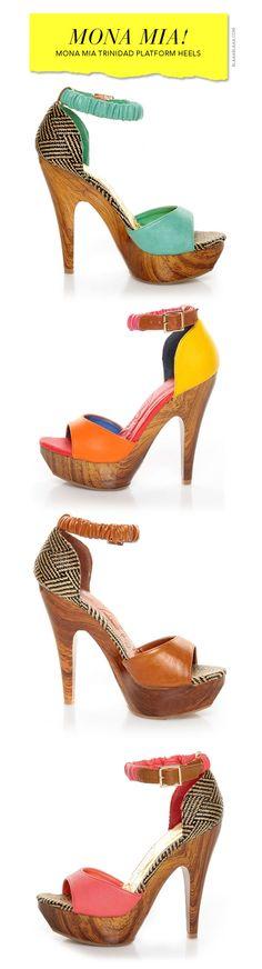 Mona Mia Trinidad Platform Heels @ Lulus