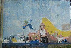 El mural ya clásico en la ciudad de Neiva.  Editado. 22 de AGOSTO-2005
