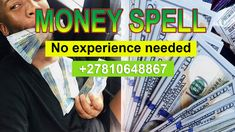 Are you fed up of living a life full of poverty and financial problems, have misunderstanding with your partner, Are you looking for quick and fast solutions to solve your love or money problems?  Chief Ezra Powerful herbalist in Limpopo, Port Elizabeth, South Africa with powerful spells to attract luck and money. My spells are known to attract highly positive energy to help people in their relationship and financially stable life. Feel free to CONTACT Chief Ezra +27810648867. Powerful Money Spells, Money Spells That Work, Spells That Really Work, Love Spell That Work, Easy Spells, Magic Spells, Love Spells, Quick Money, How To Get Money