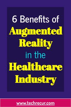 Augmented Reality is the enhanced technological concept created to inlay the digital information on a device. It incorporates digital information with the user's environment in real time. With the help of technology, it provides a composite view by providing a computer generated image on the user's view of the real world.  #technology #healthcare #ar #augmentedreality The Real World, Augmented Reality, The Help, Benefit, Health Care, Environment, Concept, Technology, Digital