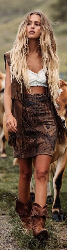 Summer trends   Bohemian outfit