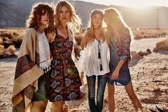 248eda3b8 Introducing Vero Moda Spring Summer 2016 Campaign shoot in Palm Springs,  starring Laura Julie, Line Brems, Mathilde Brandi and Camilla Christensen.