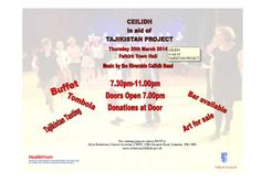 Our partners CWD Falkirk's Ceilidh raising money for our work with vulnerable children in Tajikistan, 20th March 2014