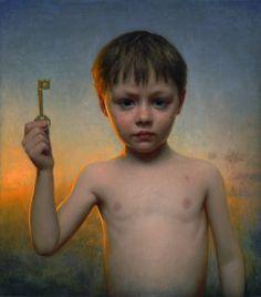 Conor Walton The Key  Oil on Canvas  18 x 20 inches
