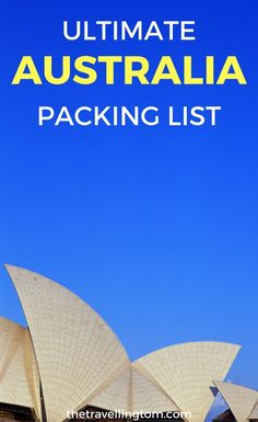Ultimate Australia packing list. Want to know what to pack for Australia? This list of products to take to Australia will come in handy. Check it out now!  Australia packing list summer | Australia packing list winter | what to pack for Australia in spring | what to pack for Australia in summer | items to take to Australia | things to pack for Australia | backpacking items for Australia #australia #packinglist #travel