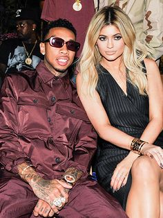 Fashion Week 2015: From the Biggest Stars at the Yeezy Show to the Beautiful Ladies in the Front Row   TYGA & KYLIE JENNER   The couple – he in pajama-inspired fashion, she in a menswear-inspired dress – turns the Opening Ceremony show into a date night event.
