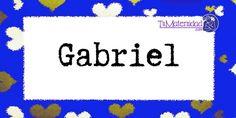 Conoce el significado del nombre Gabriel #NombresDeBebes #NombresParaBebes #nombresdebebe - http://www.tumaternidad.com/nombres-de-nino/gabriel/