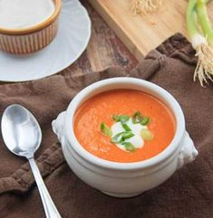 Sweet & Spicy Peanut Soup - This soup is brimming with nutrients and antioxidants plus it is really easy to make!