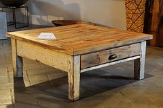 Interior design recupero tavolo da fumo con gambe originali bianche e ...