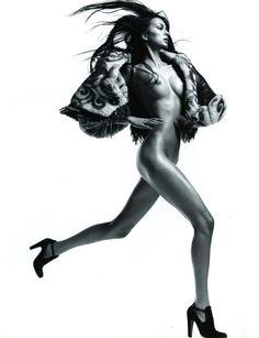 Magazine: Vogue Paris Year: 2005 Model(s): Morgane Dubled Photographer: David Sims