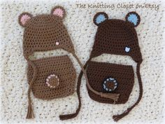 Crochet Diaper Cover Pattern Crochet Baby Hat by TheKnittingCloset