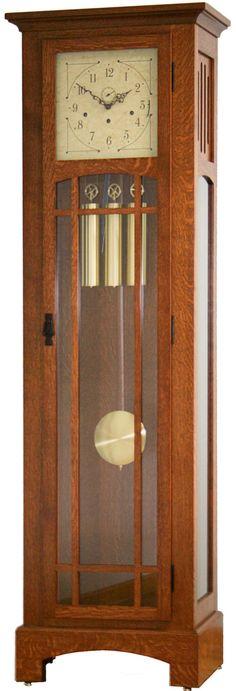 Mission Grandfather Clock #605-BH