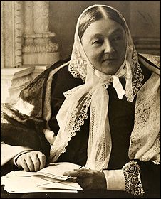 Florence Nightingale vigorously avoided fame, as it hindered her work, yet she became the object of adulation for her deeds in the Crimean war, which inspired other women to become nurses.