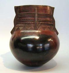 Africa | Uphiso by Jabu Nala. Contemporary African Art, Contemporary Ceramics, Ceramic Pottery, Ceramic Art, African Pottery, Cultural Artifact, Glass Repair, Wow Products, Tribal Art
