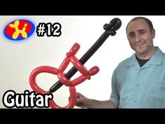 Three Balloon Guitar - Balloon Animal Lessons #12 - YouTube