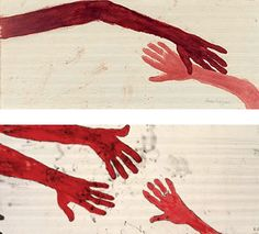 """Louise Bourgeois  """"TEN AM IS WHEN YOU COME TO ME""""  2006"""