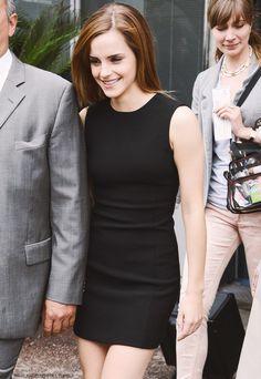 Emma Watson's little black dress