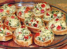 Delicious Lump Crab Crostini...recipe <3