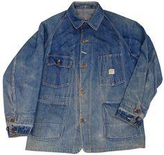J.C. Penny Super Payday Men's Denim Worker Jacket - 1930s