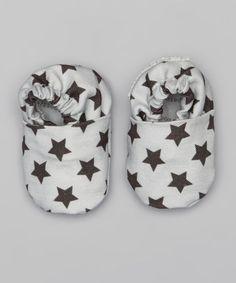 Gray Stars Booties.