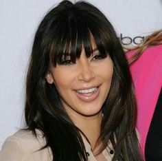 Kim Kardashian's bangs