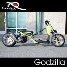 "Rucksters Customs™ ""Godzilla"""