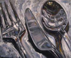 Kim Blair: Silver on Silver, One of Each, by Canadian Artist Kim Blair