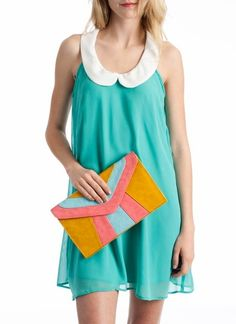 love the clutch! a nice summer day outfit.