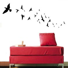 Photo: Flying Birds Removable Wall Sticker Decal DW008 Lana Decals