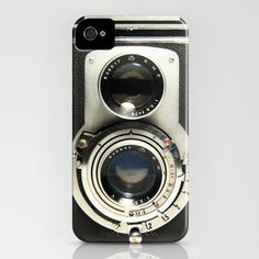 Vintage camera iPhone cases. Via Design milk ... love this even though I don't have an iPhone
