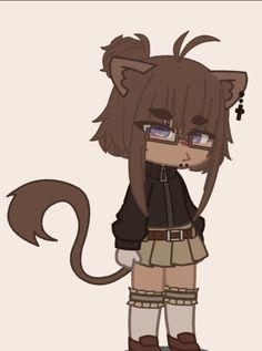 Anime Cat, Kawaii Anime, Anime Chibi, Rin Okumura, Cute Anime Character, Character Outfits, Arte Do Kawaii, Anime Devil, Club Hairstyles