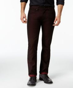 INC International Concepts Slim-Straight Fit Topper Jeans, Only at Macy's