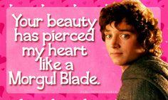 LOTR themed Valentine cards. lol